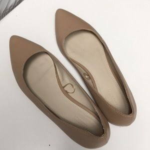 Forever 21 || nude pointed flats